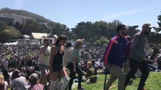 Hippie hill 4/20 in sf part 2.  2017