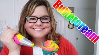 How to make Multicolored Buttercream (Filmed Live)