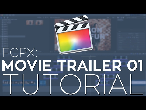 Rampant Movie Trailer 01 Fcpx Library Template Tutorial