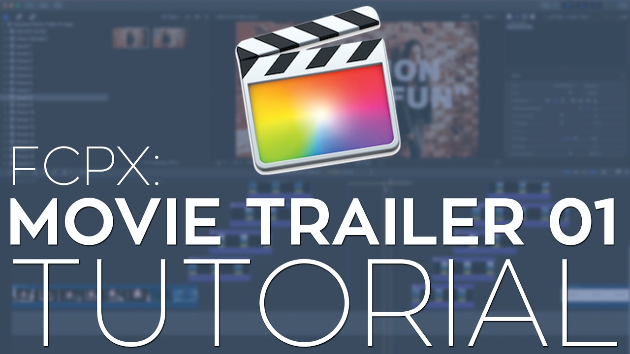 Rampant Movie Trailer 01 - FCPX Library Template Tutorial - YouTube