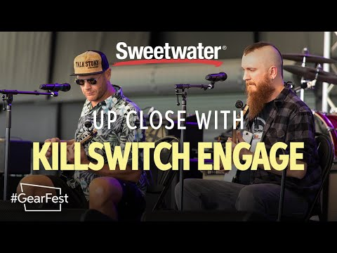 Up Close With Killswitch Engage — GearFest 2019