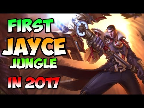 First Jayce jungle competitive in 2017 at LCK Summer promo