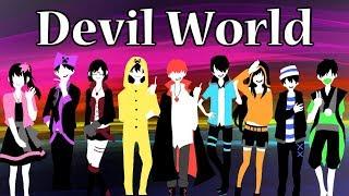 【マインクラフト】あかがみんなで配布ワールドに挑戦!【Devil World実況】赤髪のとも1