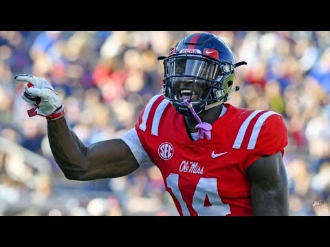 Ole Miss WR DK Metcalf Career Highlights ᴴᴰ
