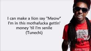 Young Money   Senile feat  Tyga, Lil Wayne (Lyrics) SUSCRIBE !