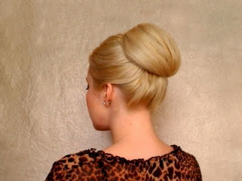 bun hairstyles long hair updo