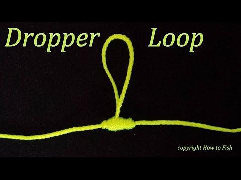 Dropper Loop | How To Tie A Dropper Loop Knot | Fishing Knots