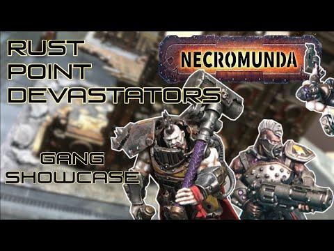 Necromunda Gang Showcase: Rust Point Devastators of House Goliath |