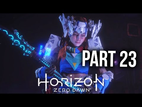 HORIZON ZERO DAWN Walkthrough Part 23 - THE MOUNTAIN THAT FELL (PS4 Gameplay Let's Play)
