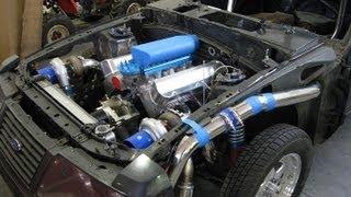 Twin Turbo Build