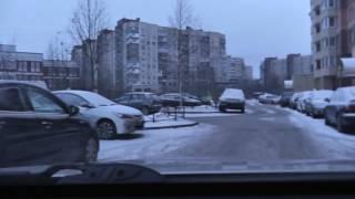 Автонакат - Уроки автовождения во дворах с начинающим водителем.