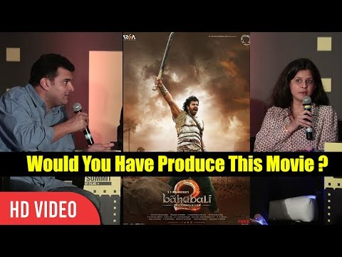 Would You Have Produce Baahubali 2 If Given A Change ? | Siddharth Roy Kapoor Reaction