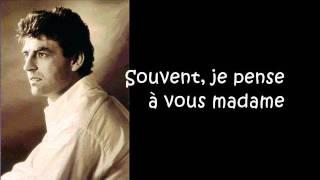 Claude Barzotti - Madame