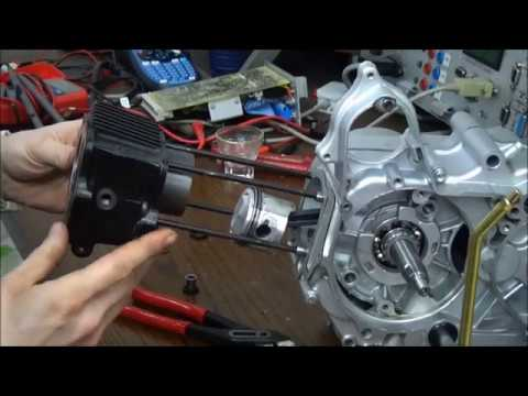 Zylinder Kolben Dichtung komplett für Kinderquad China Motor 110cc 107ccm