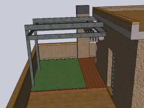 01 dise os de terrazas patios y jardines youtube for Diseno de patios y terrazas