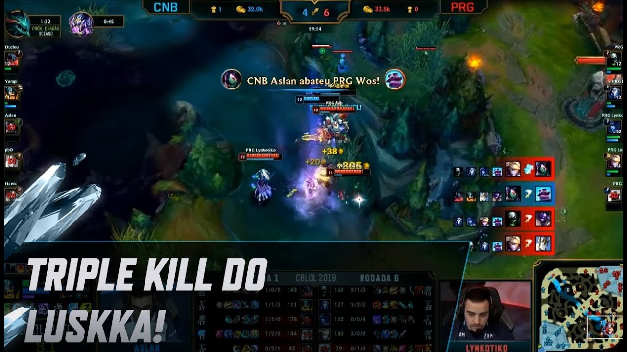 Triple Pet Stroller Cblol 2019 Triple Kill Do Luskka Universalstrollers