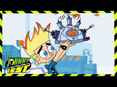 Johnny Test - Black & White & Johnny All Over // Johnny's Rat Race