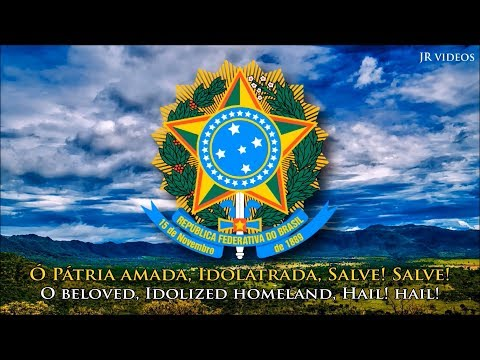 Brazilian National Anthem (PT/EN lyrics) - Hino Nacional Brasileiro