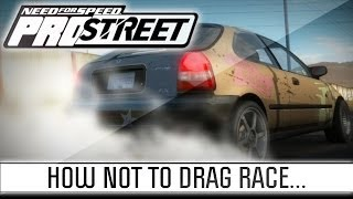 Need for Speed ProStreet - Episode 1 - Drag Race Fail
