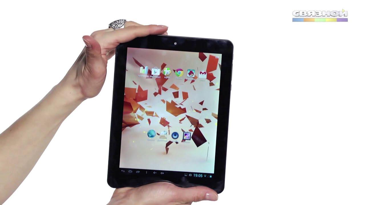 Обзор планшета Explay Surfer 8.31 3G - YouTube