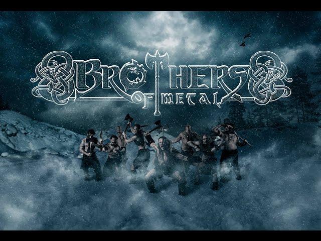 Brothers of Metal - Prophecy of Ragnarök (Lyric Video)