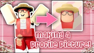 MAKING A SHADOW HEAD PROFILE PICTURE FROM ROBLOX! - Pickles' Edits