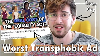 Transphobia is Not Equality | Reacting to Transphobic Ad