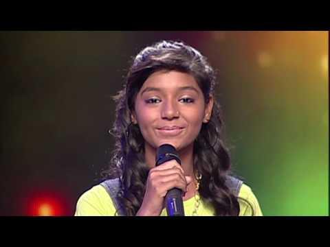 Nitika Singing Garry Sandhu Song tere Nikke Nikke | Voice of Punjab Chhota Champ 3