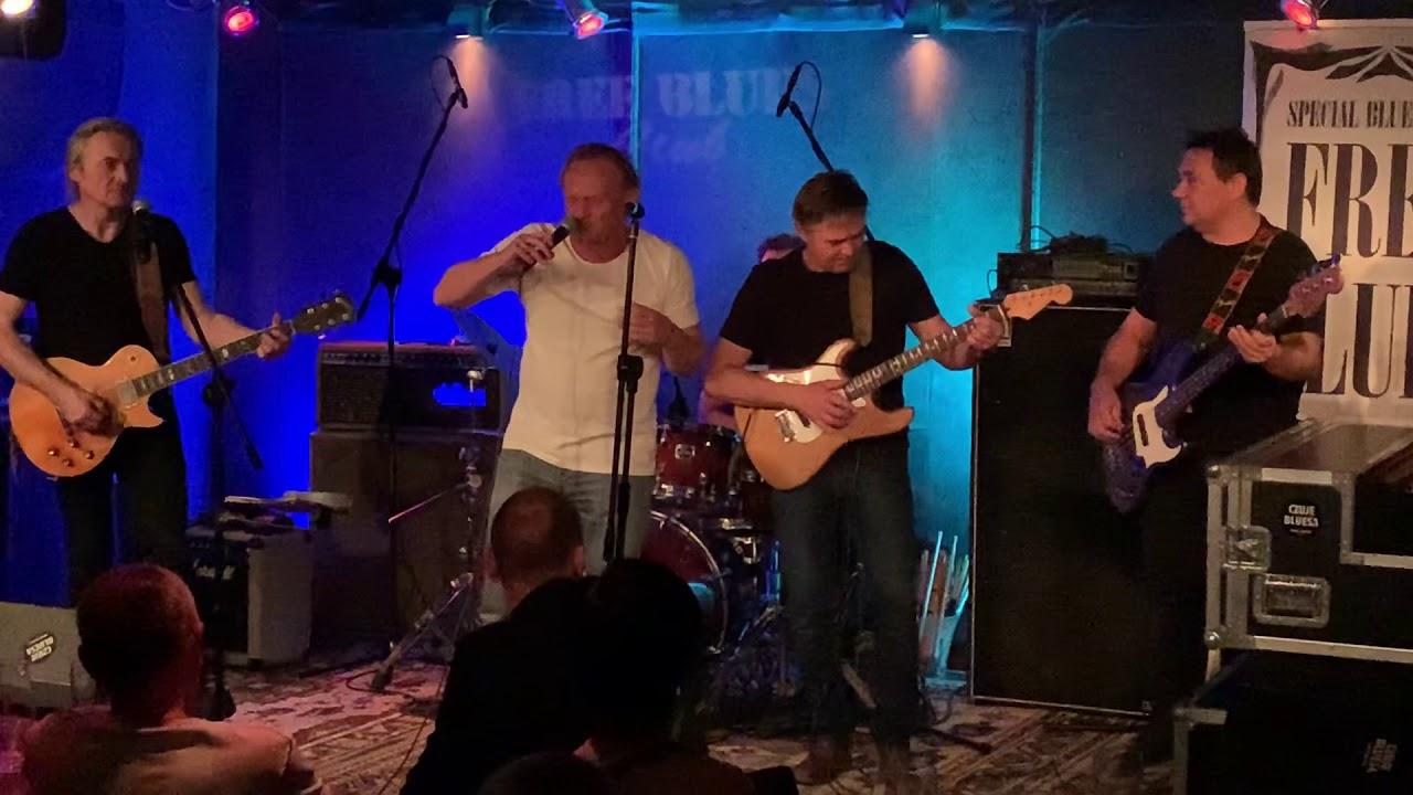 Free blues band Niewirowski i Marian.