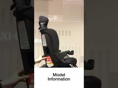 Cosco Finale Car Seat How To Find Expiration Date Model Info