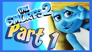 The Smurfs 2 Walkthrough Part 1 (PS3, X360, Wii) - Movie Video Game [Enchanted Forest]