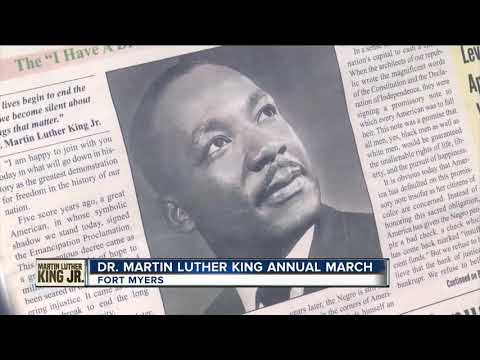 March honors Dr. Martin Luther King Jr. in Fort Myers
