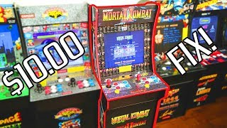 This $10 Upgrade Is A MUST for Mortal Kombat Arcade 1UP Owners!