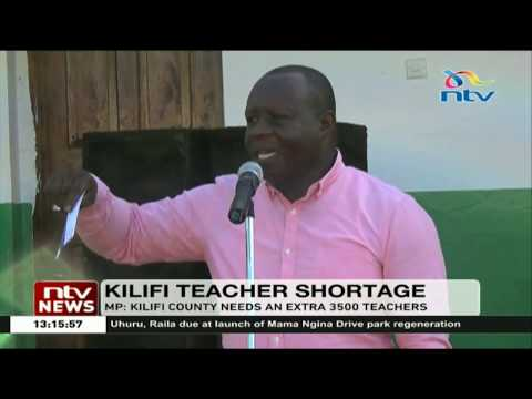 Kilifi North MP calls for deployment of more teachers in Kilifi County