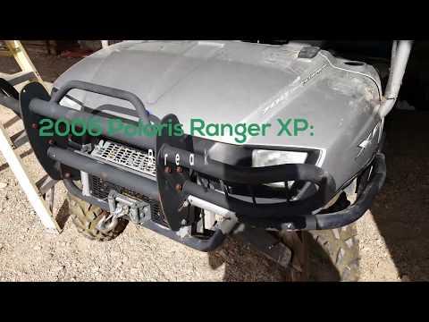 Disabling the Foot Brake Start Switch Polaris Ranger XP