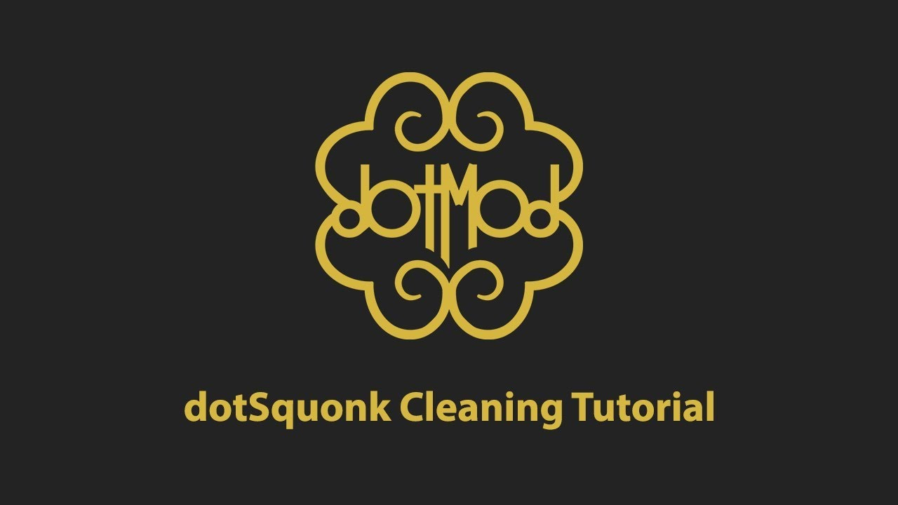 dotsquonk cleaning installation and electrode removal instructions dotmodretail [ 1280 x 720 Pixel ]