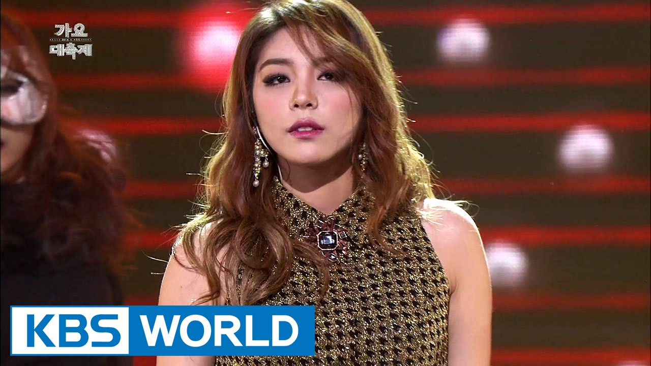 Ailee - Don't Touch Me [2014 KBS Song Festival / 2015 01 14]