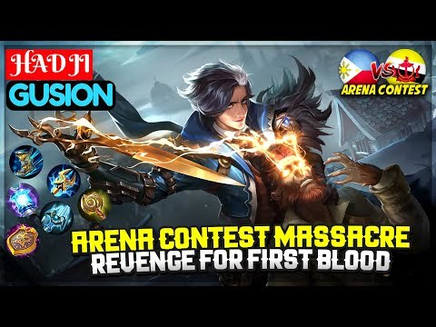 download Arena Contest Massacre, Revenge For First Blood [Top Global Gusion ] HAD JI - Mobile Legends