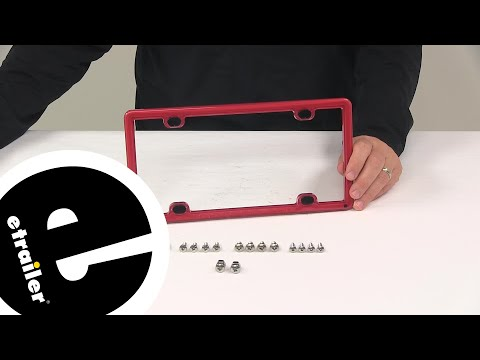 Etrailer | WeatherTech License Plates And Frames - Miscellaneous - WT8ALPCF1 Review