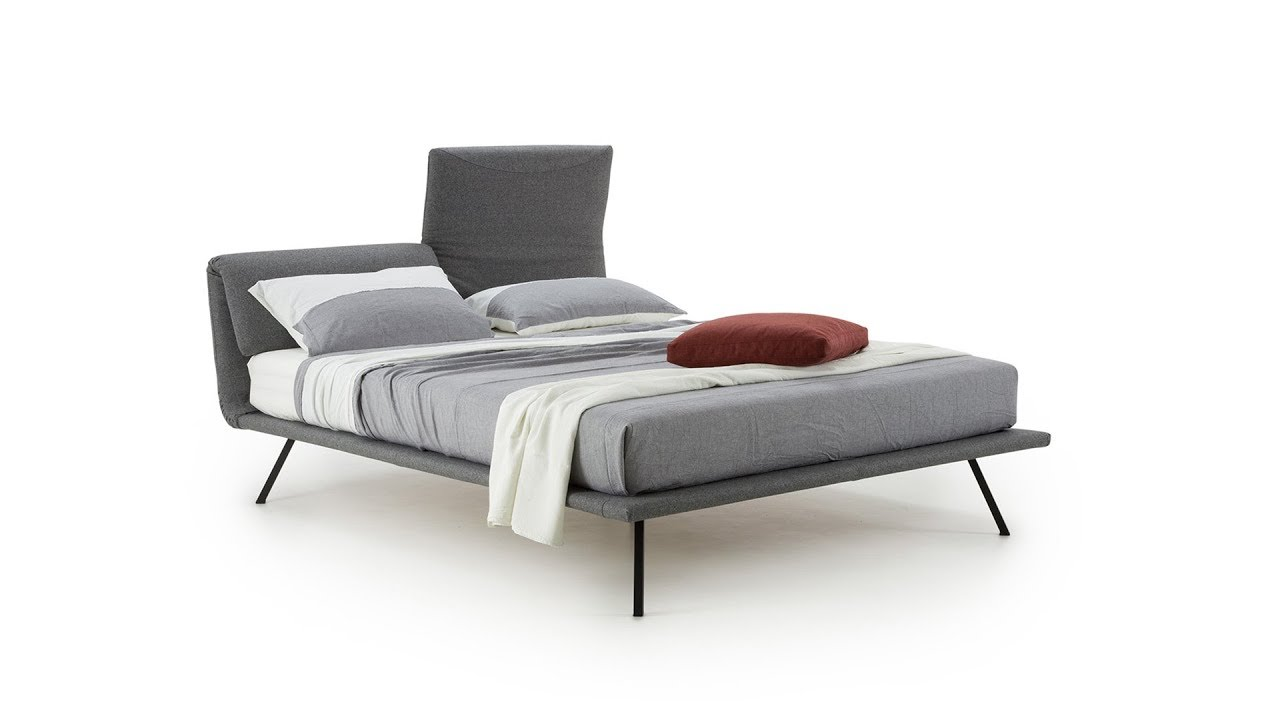 Baloo Upholstered Bed Adjustable Headboard