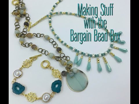 Making Stuff with The May Bargain Bead Box