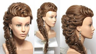 Bridal Hairstyle For Long Hair Tutorial Step By Step