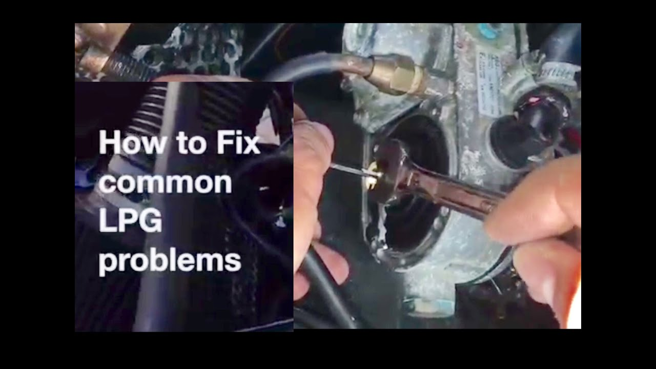 hight resolution of how to fix common lpg problems vaporiser reducer injectors