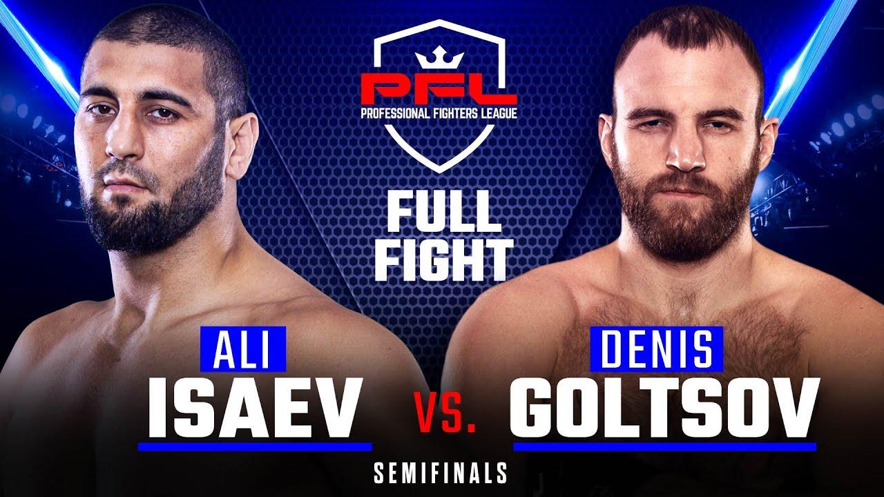 Полный бой: Али Исаев - Денис Гольцов (Playoffs)