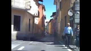 Fahrt durch Moniga del Garda