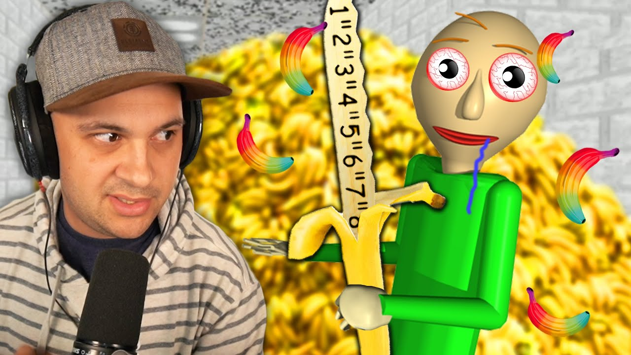Baldi LOVES Bananas...