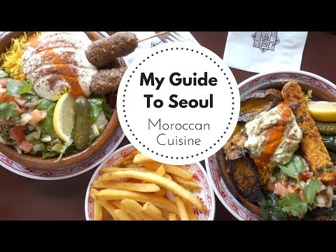 GUIDE TO SEOUL: Moroccan Cuisine - Morococo Cafe and Casablanca