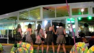 Dancing lols - Majorca 2012 Girls Holiday
