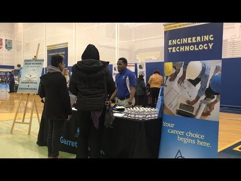 Students, families excited by options at CMSD's High School Choice Fair