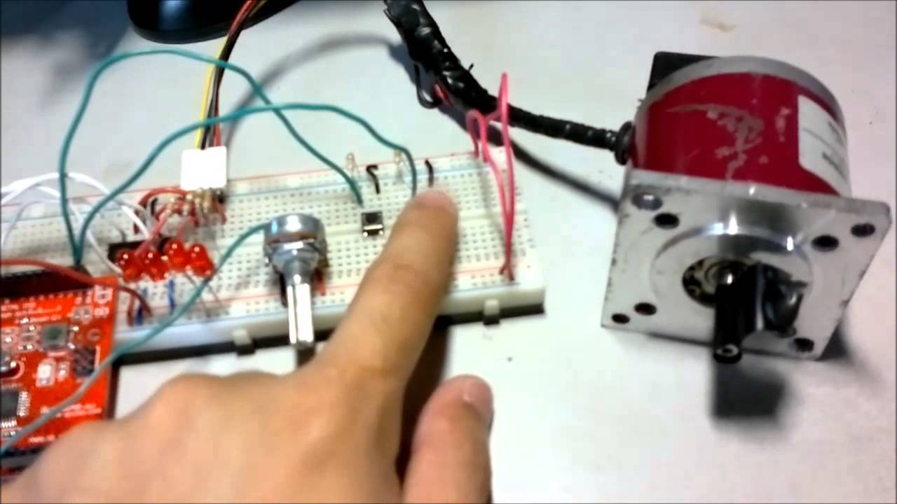 Arduino L293 Stepper Motor Control Youtube